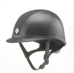 Charles Owen Leather Look Hat