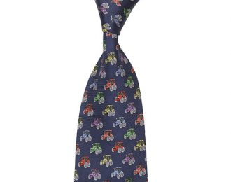 Hoggs of Fife Silk Country Tie – Tractor