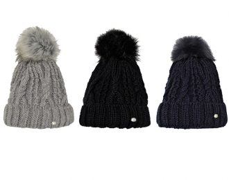 Pikeur Beanie with Faux Fur Pompom