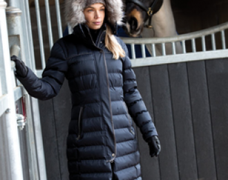 Equetech Rowant Long Quilted Coat