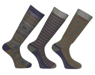 Toggi Redgrave Fairisle Design Mens Sock