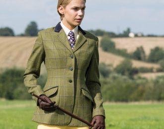 Equetech Adstock Deluxe Tweed Jacket