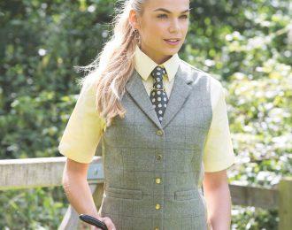 Equetech Heathcote Tweed Lapel Waistcoat