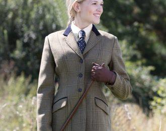 Equetech Stowe Ladies Tweed Riding Jacket