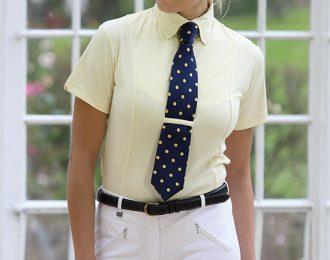 Short Sleeve Tie Shirt – Ladies
