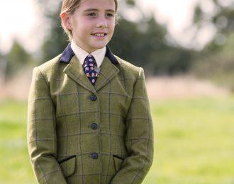 Equetech Junior Adstock Deluxe Tweed Jacket