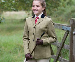 Equetech Foxbury Deluxe Tweed Riding Jacket