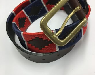 Leather Polo Belt