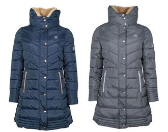 Deluxe long padded coat