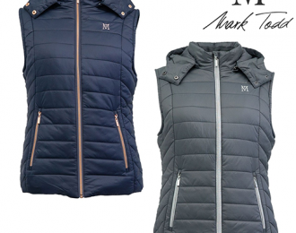 Ladies winter padded gilet