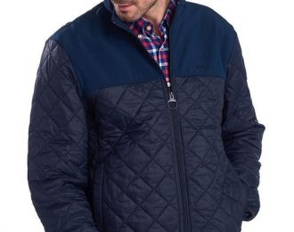 Stain Drop Quilt Jacket