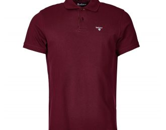 Tartan Pique Polo T-shirt