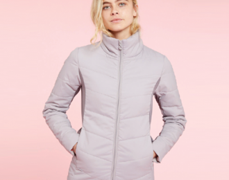 Addlethorpe ladies padded hybrid jacket